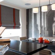Шторы для кухни и столовой